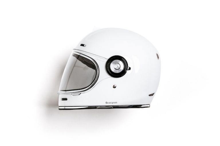 Motorcycle gear, helmet, style rider, cafe racer