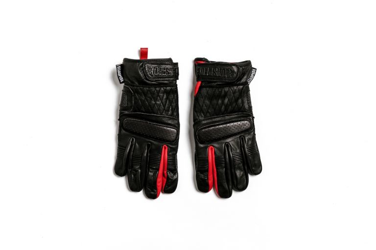 Motorcycle gear, gloves, abrasion, resistance