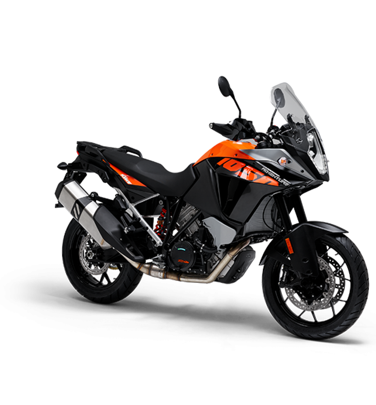 Best motorcycle and motorbike types for off road and dual adventure riding in Australia. This is a KTM 1050 Adventure bike with ABS braking