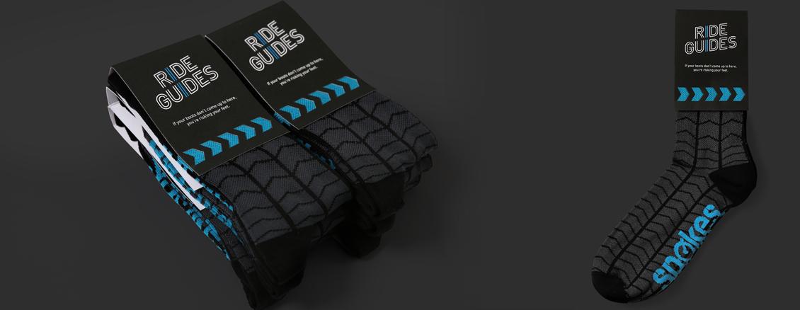 Ride guides socks