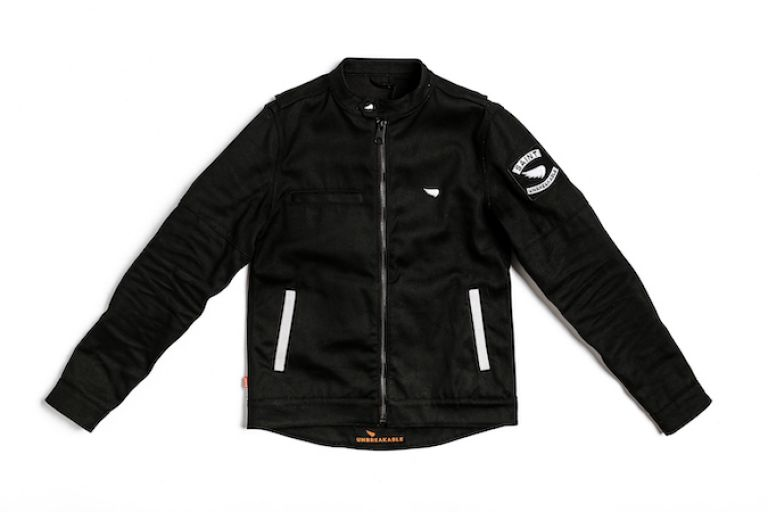 Motorcycle gear, jacket, style rider, triumph bobber