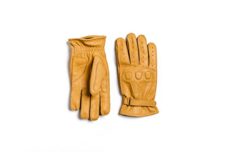 Motorcycle gear, gloves, style rider, ducati scrambler