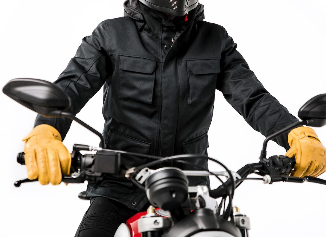 Motorcycle gear, ducati scrambler, rider style